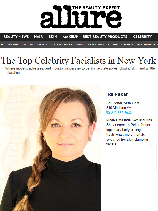 Best Celebrity Facialist