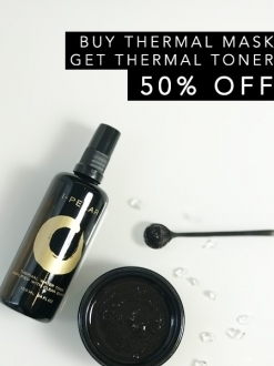Thermal Mud Mask with Thermal Toner Special